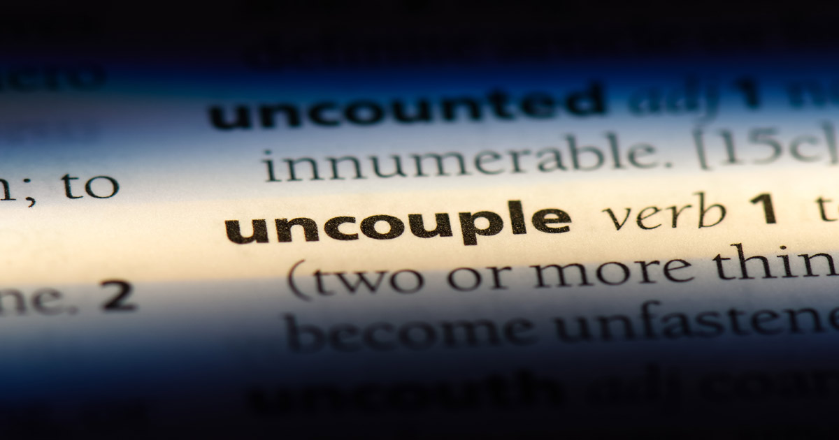 The Rise of Conscious Uncoupling